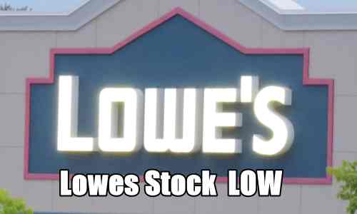 Lowes Stock LOW