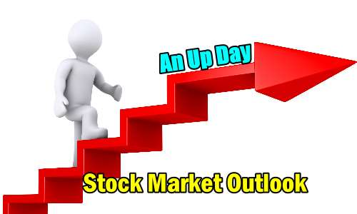 Stock Market Outlook An Up Day