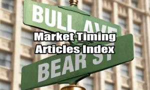 Market Timing Articles Index