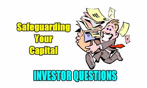 Safeguarding your capital - investor questions