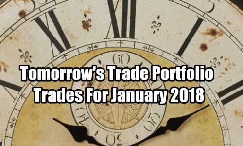 Tomorrow's Trade for January 2018