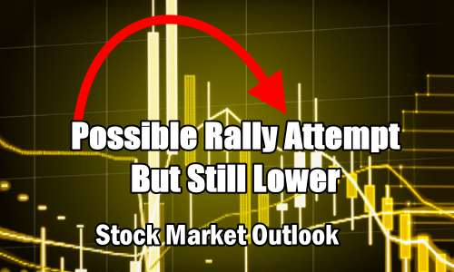 Stock Market Outlook - Rally Attempt But Still Lower