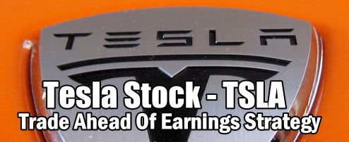 Tesla Stock (TSLA) Trade Alert ahead of earnings