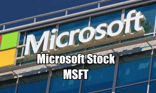 Microsoft Stock (MSFT) trade alert