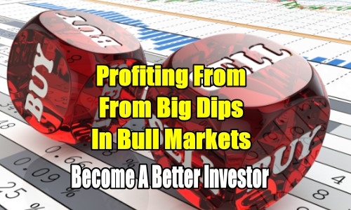 Profiting From Big Dips In Bull Markets - Become A Better Investor