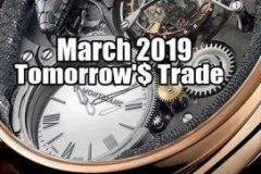 Tomorrow's Trade for March 2019