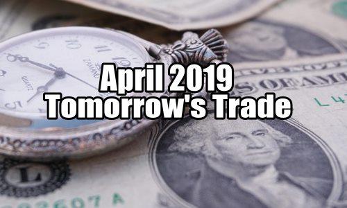 Tomorrow's Trade Portfolio Ideas for Thu Apr 18 2019