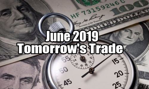Tomorrow's Trade Portfolio Ideas for Jun 20 2019