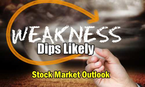 Weakness Dips Likely
