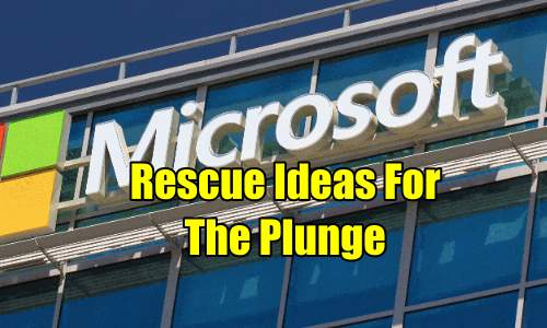 Microsoft Stock (MSFT) rescue