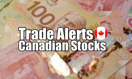 Canadian stocks trade alert