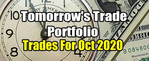 Tomorrow's Trade for October 2020