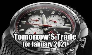 Tomorrow's Trade for January 2021