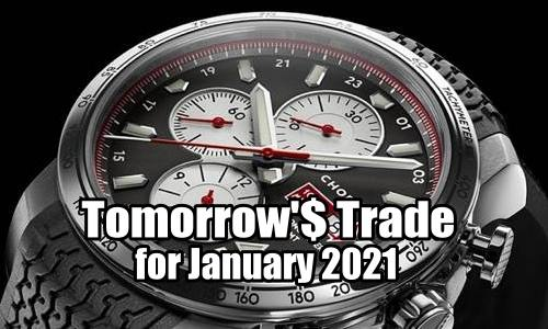 Tomorrow's Trade for January 2021