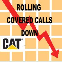 CAT Stock - The Strategy Of Rolling Covered Calls Down