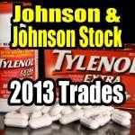 johnson-and-johnson-stock-2013-trades