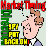 Market Timing / Market Direction Spy Put Trade Back On
