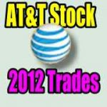 T Stock Trades For 2012