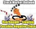 Stock Market Outlook for Tue Jan 22 2019  - Overbought - Slowing - Possible Negative Close