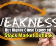 Stock Market Outlook for Mon Feb 4 2019 - Weakness But Higher Close