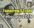 Tomorrow's Trade Portfolio Ideas for Fri Feb 15 2019